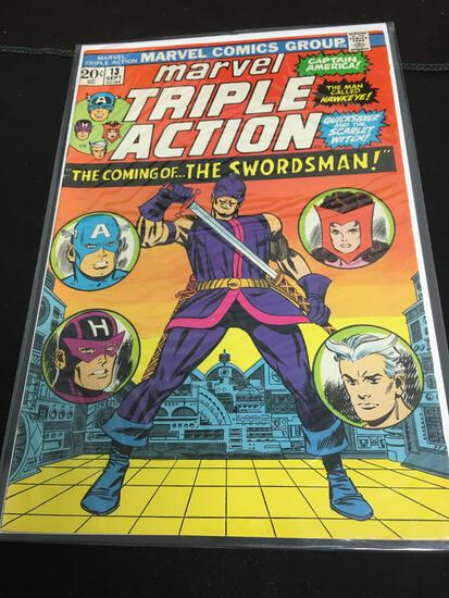 Marvel Triple Action #13 Comic Book from Amazing Collection