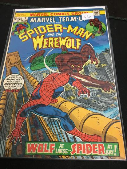Marvel Team-Up #12 Comic Book from Amazing Collection