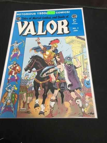 Valor #4 Comic Book from Amazing Collection