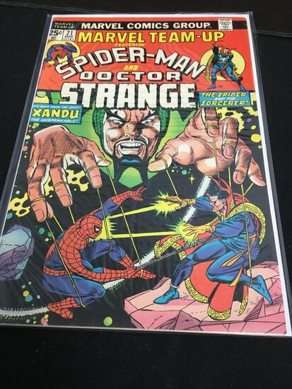 Marvel Team-Up #21 Comic Book from Amazing Collection