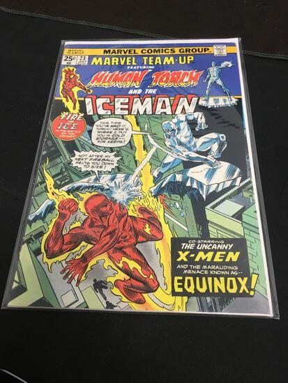 Marvel Team-Up #23 Comic Book from Amazing Collection