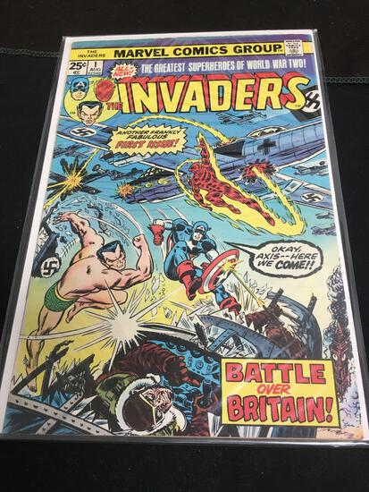The Invaders #1 Comic Book from Amazing Collection