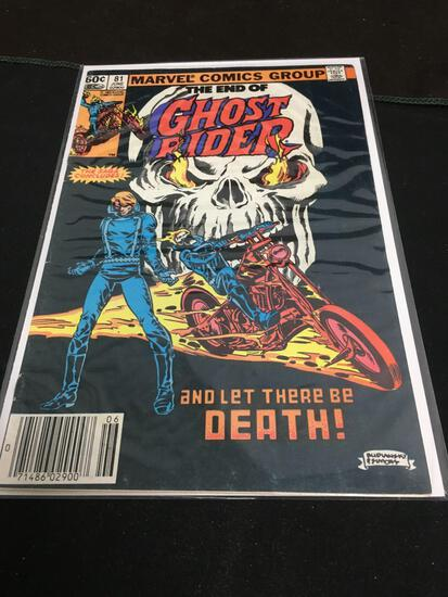 Ghost Rider #81 Comic Book from Amazing Collection