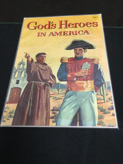 God's Heroes In America Comic Book from Amazing Collection