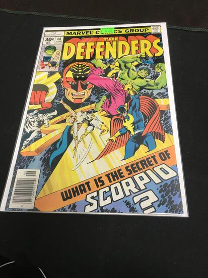The Defenders #48 Comic Book from Amazing Collection