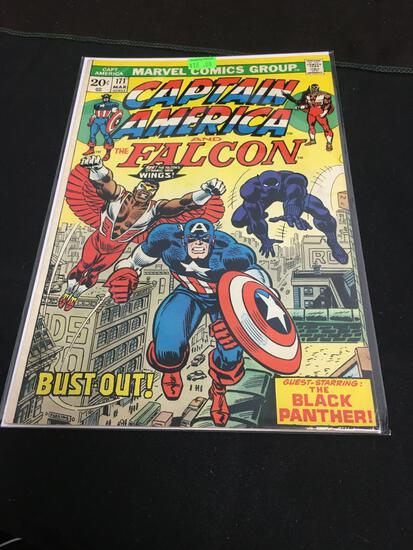 Captain America and The Falcon #171 Comic Book from Amazing Collection