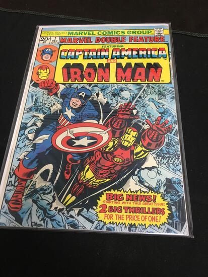 Marvel Double Feature #1 Comic Book from Amazing Collection