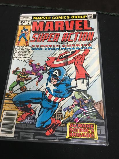 Marvel Super Action #7 Comic Book from Amazing Collection