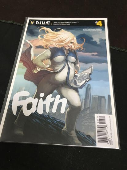 Faith #4 Comic Book from Amazing Collection