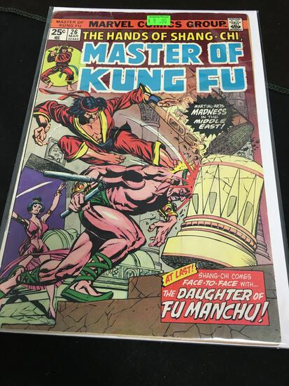 The Hands of Shang-Chi #26 Comic Book from Amazing Collection