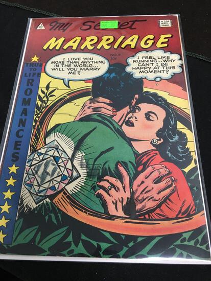 My Secret Marriage #9 Comic Book from Amazing Collection