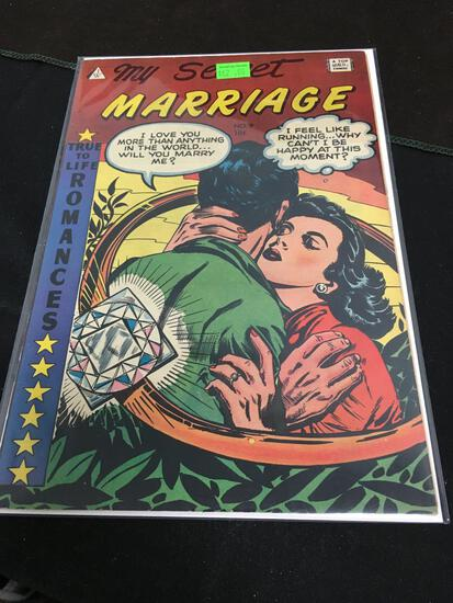 My Secret Marriage #9 Comic Book from Amazing Collection B
