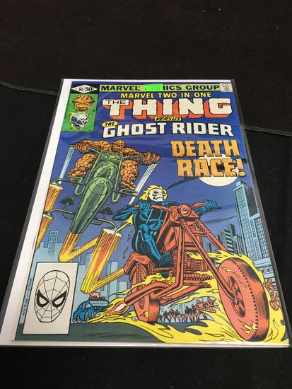 Marvel Two-In-One #80 Comic Book from Amazing Collection