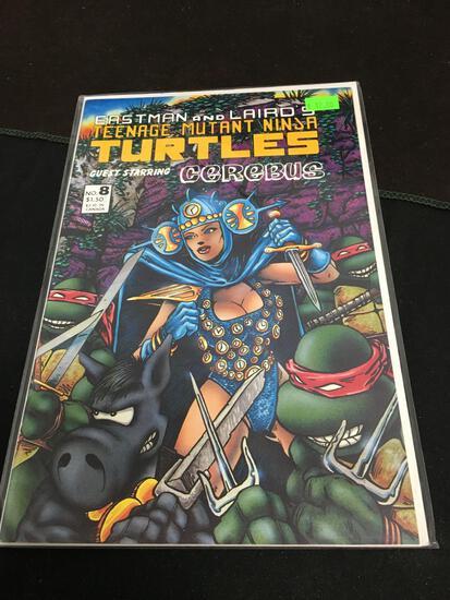 Teenage Mutant Ninja Turtles #8 Comic Book from Amazing Collection
