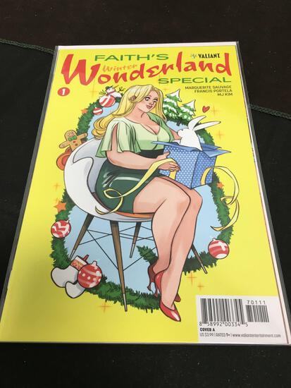 Faith's Winter Wonderland Special #1 Comic Book from Amazing Collection