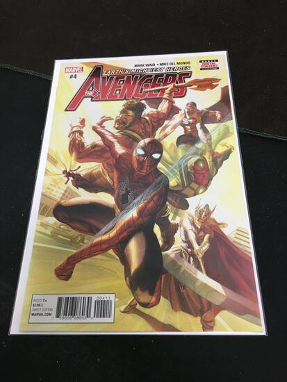 The Avengers #4 Comic Book from Amazing Collection