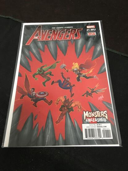 The Avengers Monsters Unleashed #1 Comic Book from Amazing Collection