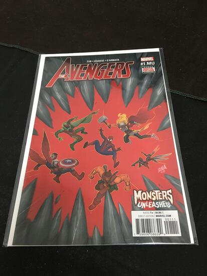 The Avengers Monsters Unleashed #1 Comic Book from Amazing Collection B