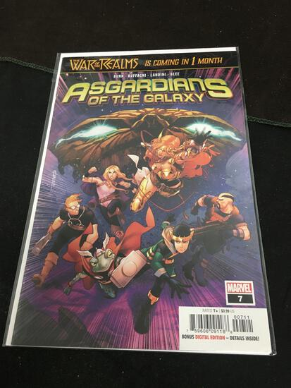Asgardians of The Galaxy #7 Comic Book from Amazing Collection