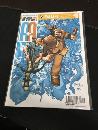 The Adventures of Archer And Armstrong #1 Comic Book from Amazing Collection