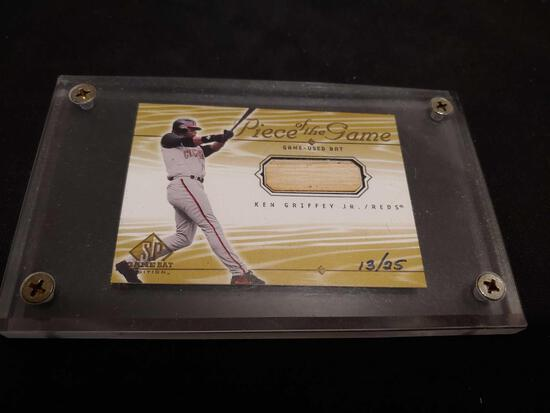 Ken Griffey Jr Piece of The Game card # 13/25