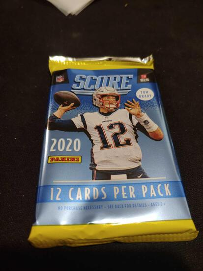 2020 Score football unopened packof cards