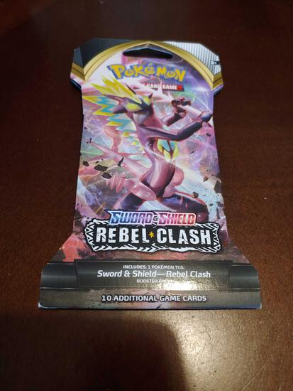 Pokemon Sword & Shield Rebel Clash booster pack