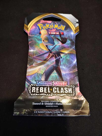 Pokemon Sword & Shield Rebel Cladh booster pack