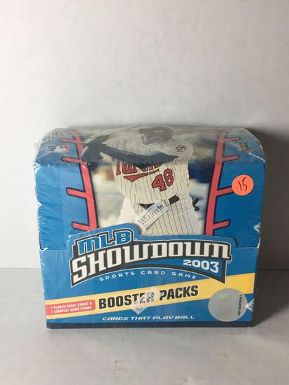 Factory Sealed 2003 MLB Showdown Booster Box from Store Closeout