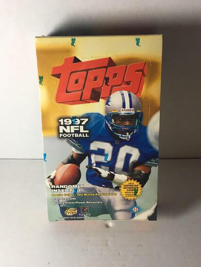 Factory Sealed 1997 Topps NFL Hobby Box from Store Closeout