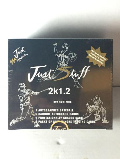 Factory Sealed 2k1.2 Baseball Box from Store Closeout