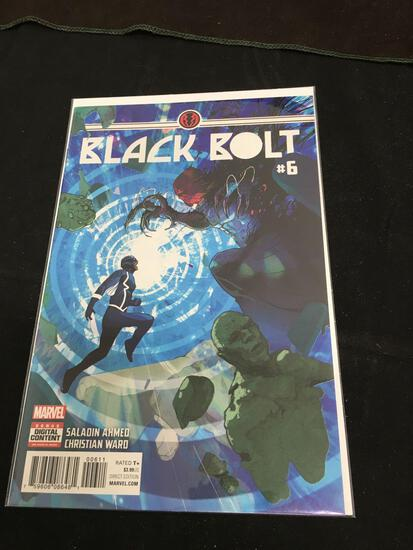 Black Bolt #6 Comic Book from Amazing Collection