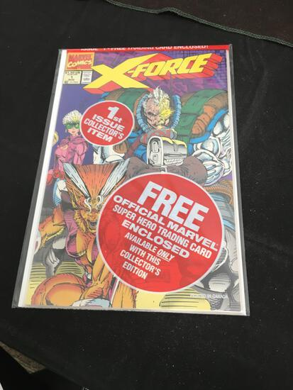X-Force First Issue Collector's Item #1 Comic Book from Amazing Collection