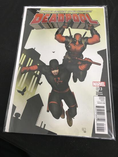 Deadpool Variant Edition #13 Comic Book from Amazing Collection