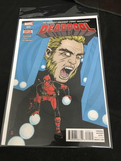 Deadpool #9 Comic Book from Amazing Collection