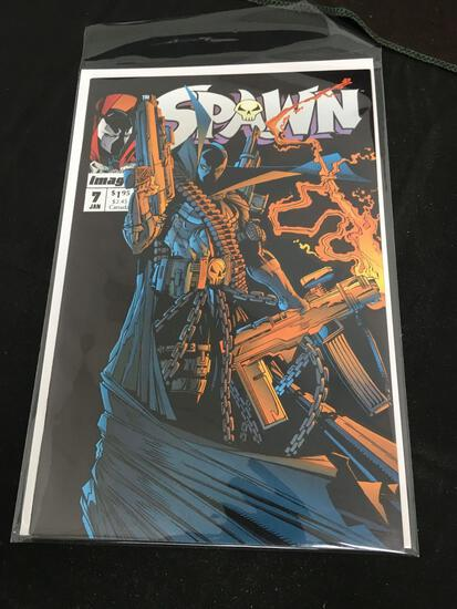 Spawn #7 Comic Book from Amazing Collection