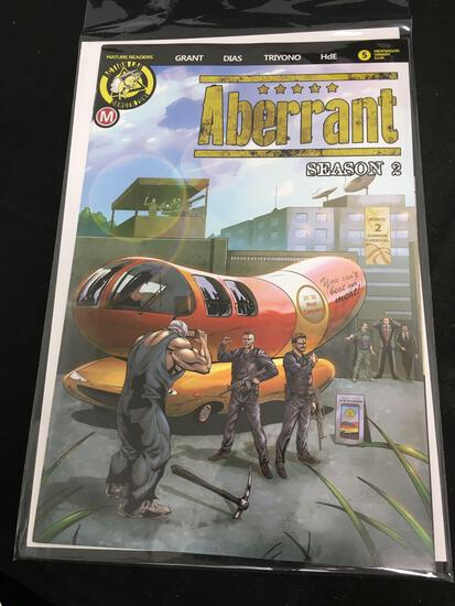 Aberrant Season 2 Meatwagon Variant #5 Comic Book from Amazing Collection