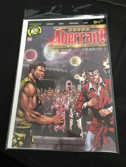 Aberrant Season 2 Live or Die? Variant #2 Comic Book from Amazing Collection
