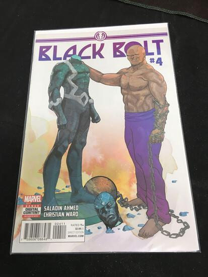 Black Bolt #4 Comic Book from Amazing Collection