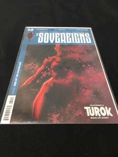 The Sovereigns #3 Comic Book from Amazing Collection