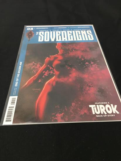 The Sovereigns #3 Comic Book from Amazing Collection B
