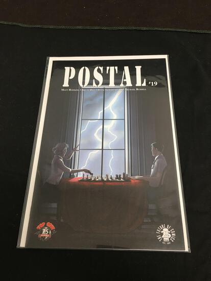 Postal #19 Comic Book from Amazing Collection