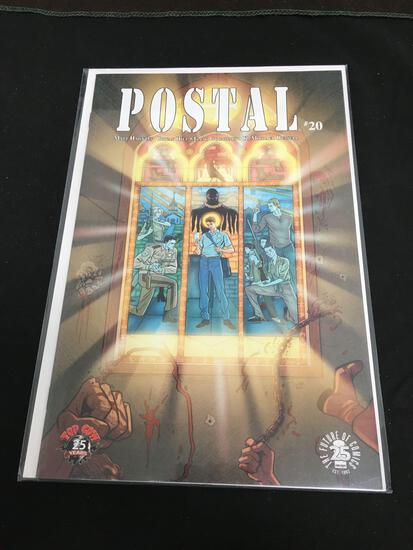Postal #20 Comic Book from Amazing Collection