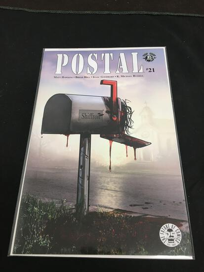 Postal #21 Comic Book from Amazing Collection