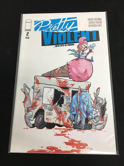 Pretty Violent #2 Comic Book from Amazing Collection