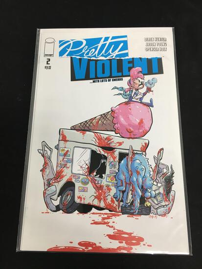 Pretty Violent #2 Comic Book from Amazing Collection B