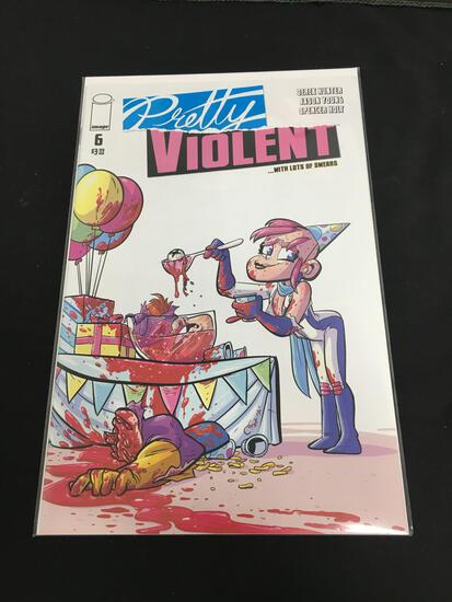 Pretty Violent #6 Comic Book from Amazing Collection
