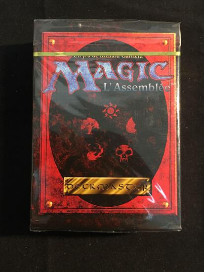 FRENCH Vintage Factory Sealed MTG Magic The Gathering 4th Edition Deck