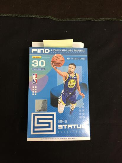 FACTORY SEALED - 2018-19 Status Basketball Retail Hanger 30 Card Box Pack
