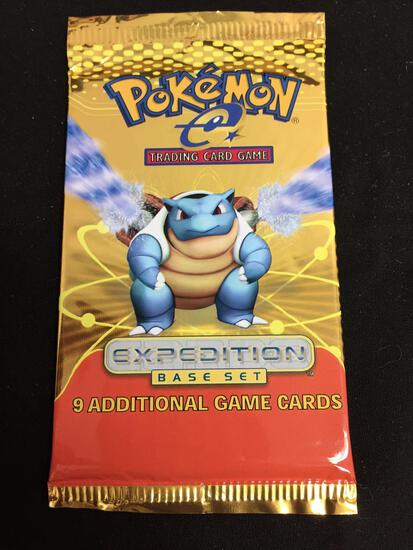 Pokemon Expedition Base Set 9 Card Booster Pack - SEE DESCIPTION